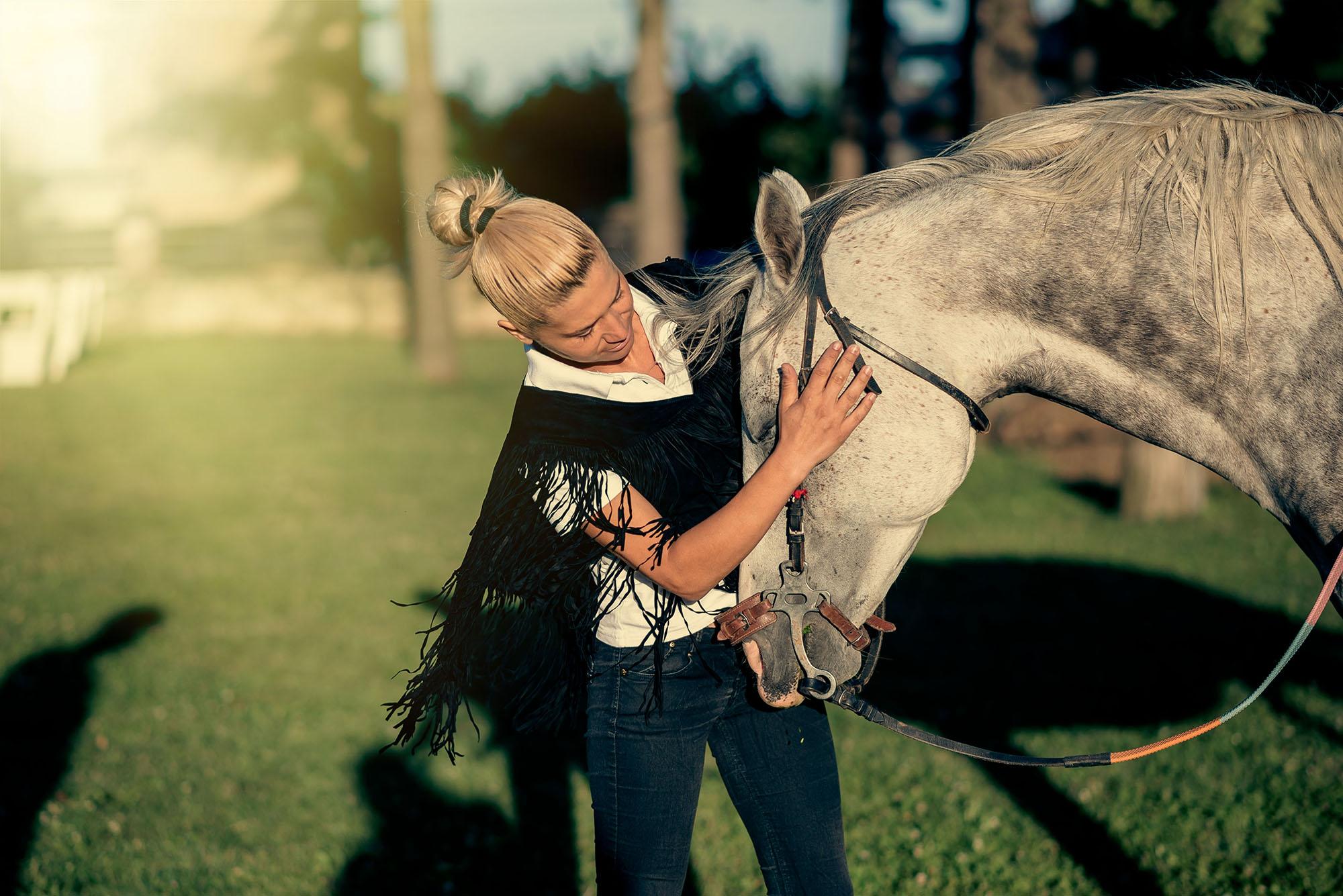 фотография конна езда